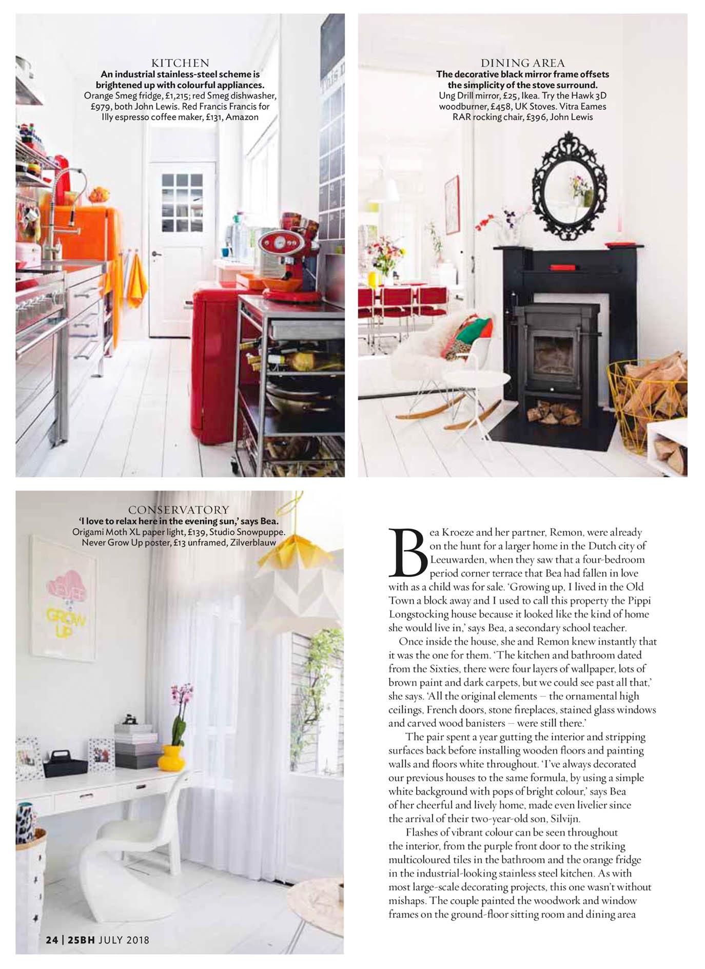 Hoewel dit de vierde reportage in een woonmagazine is met de hier in maart  2015 door Camilla Isaksson gemaakte foto s 17aac4f40